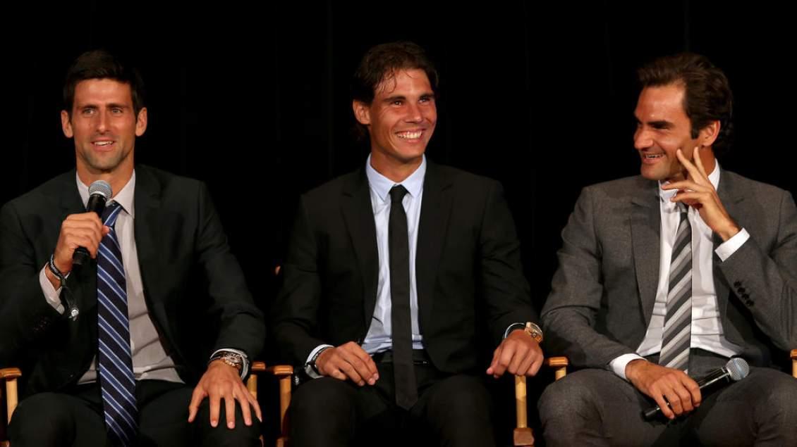 Nadal Djokovic Federer