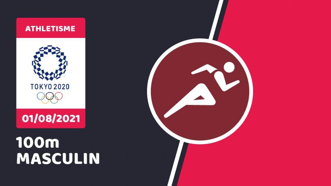 Finale 100 mètres JO 2021
