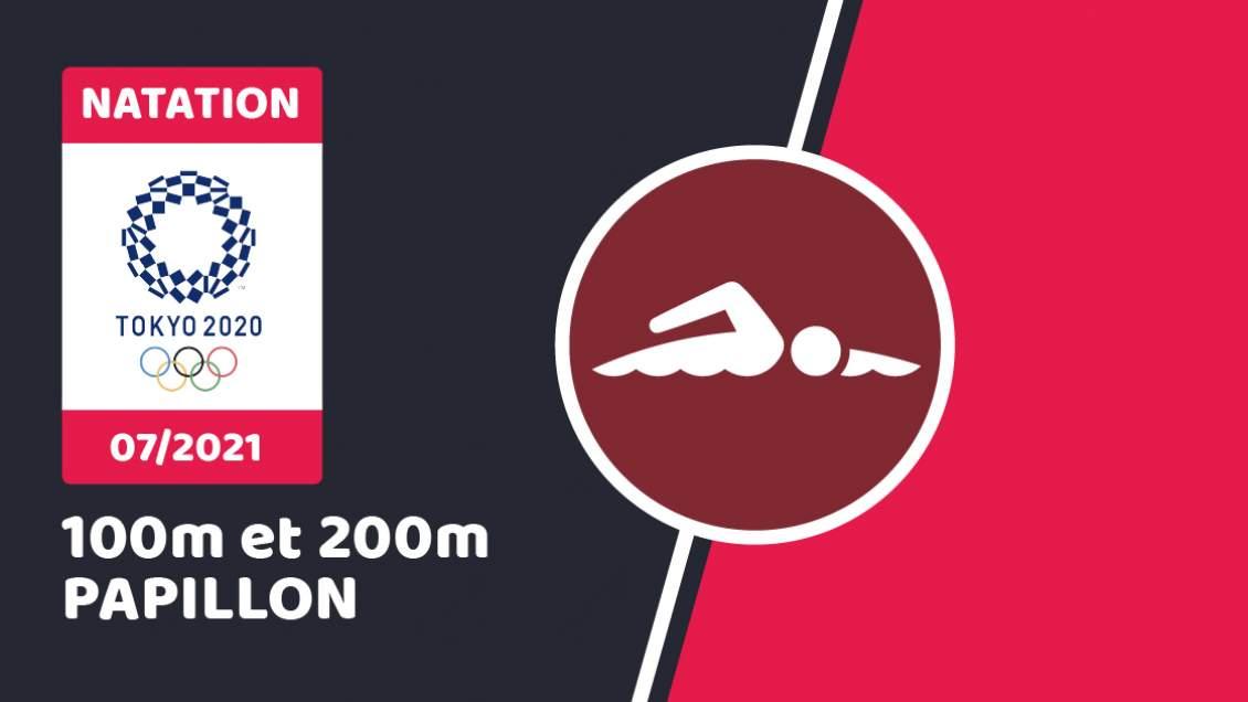Natation papillon hommes JO 2021