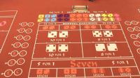 table craps rouge
