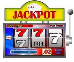 machine à sous jackpot 777