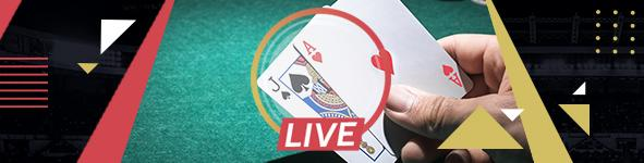 croupière blackjack en direct