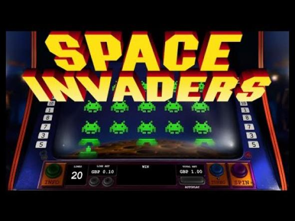 space invader playtech slot