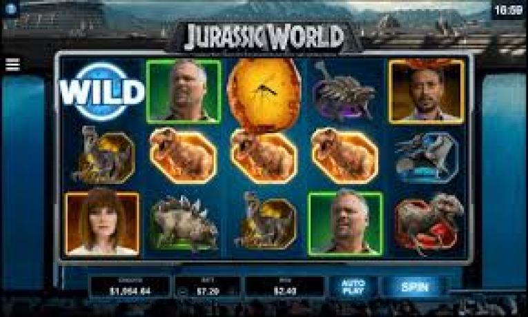 Jurassic World machine à sous Microgaming