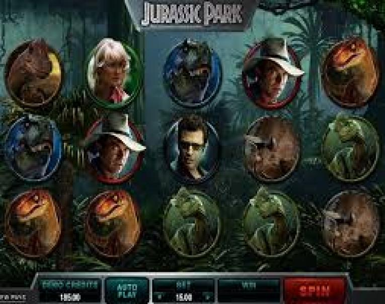 Jurassic Park machine à sous Microgaming
